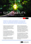 Sustainability: Technology enabled